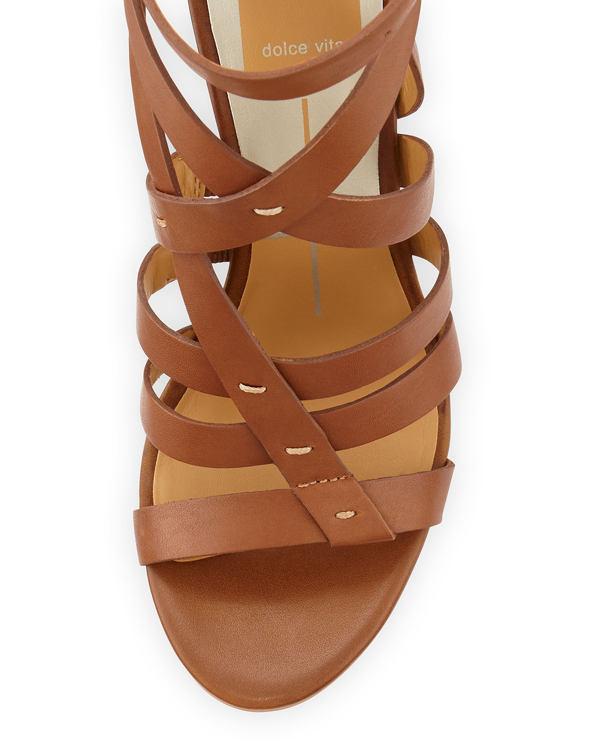 a751d0020b1 Lyst - Dolce Vita Nolin Strappy Leather Sandal in Brown