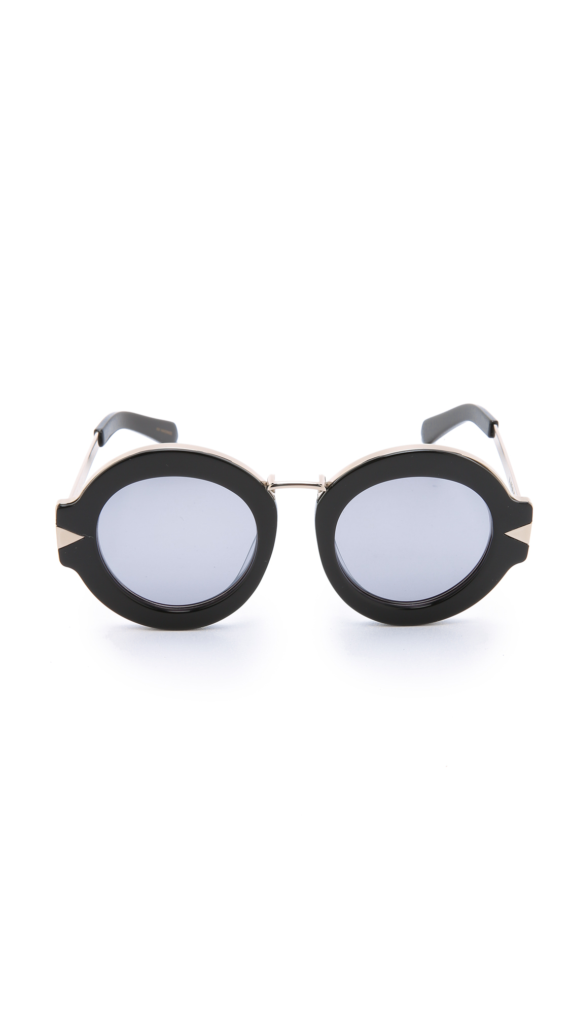 Maui Jim Warranty >> Lyst - Karen Walker Superstars Maze Sunglasses in Black