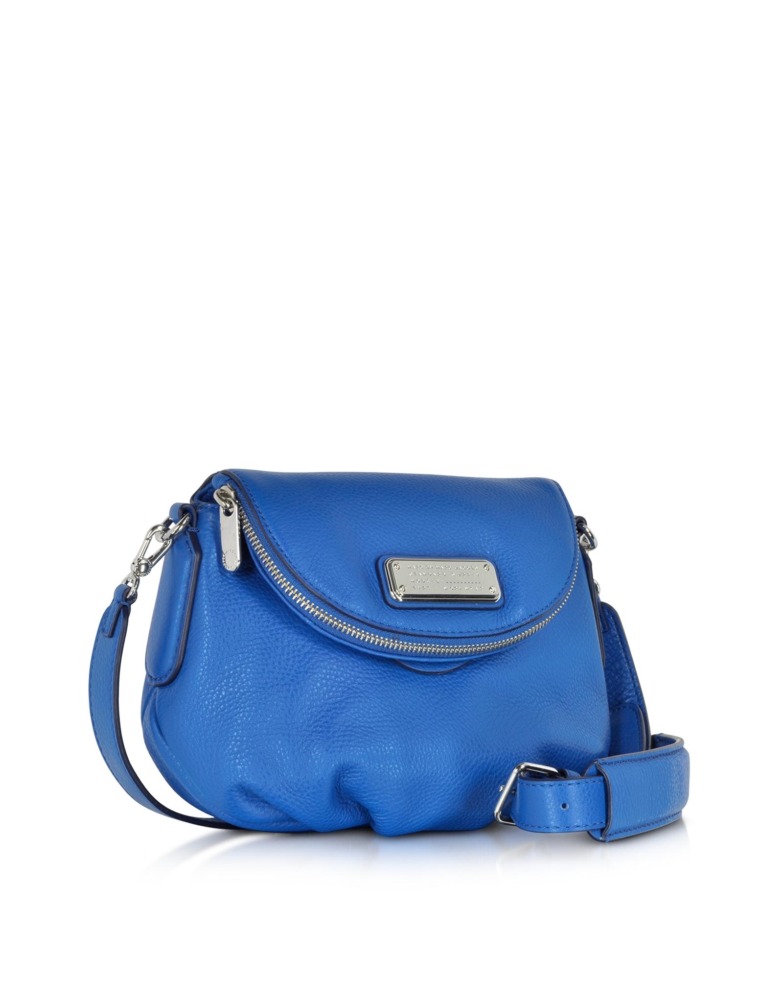 4e0478bef8f9 Lyst - Marc By Marc Jacobs New Q Mini Natasha Crossbody Bag in Blue