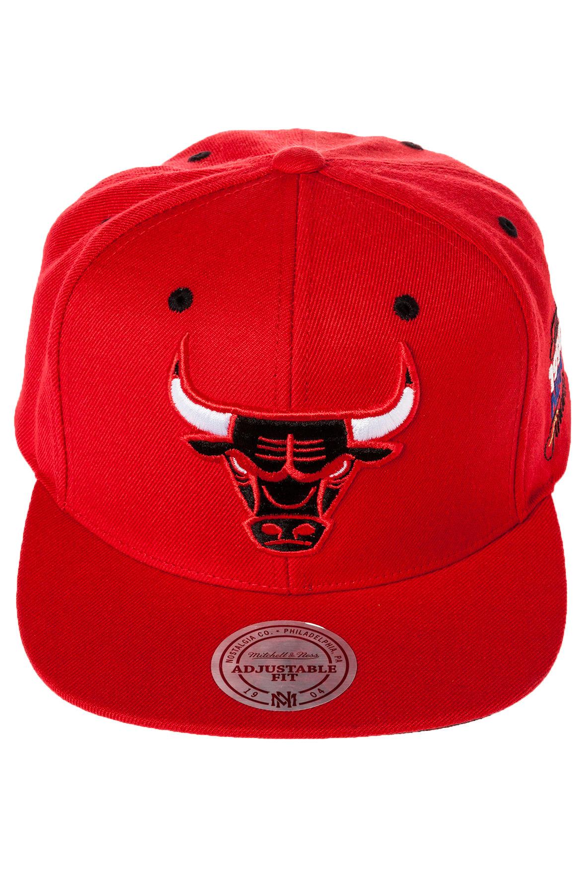 99c194d4e6e76 Lyst - Mitchell   Ness The Chicago Bulls Commemorative Snapback in ...