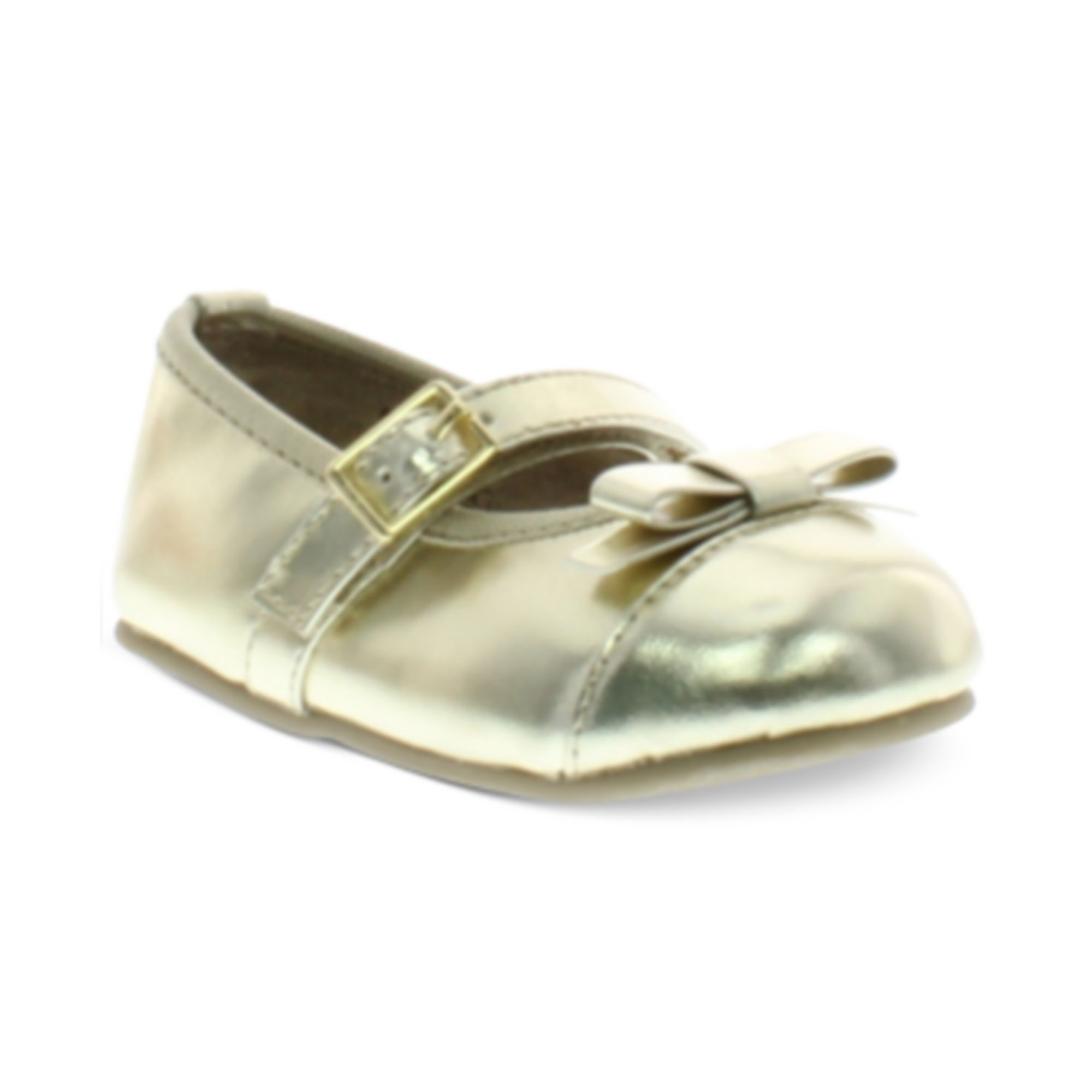 Michael Kors Michael Baby Girls Grace Bina Shoes in Gold