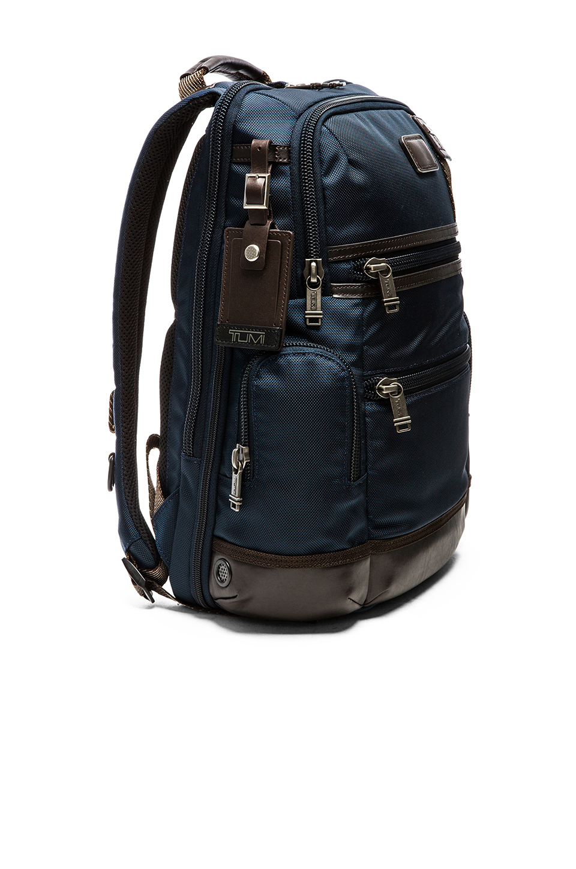 Lyst Tumi Alpha Bravo Knox Backpack In Blue