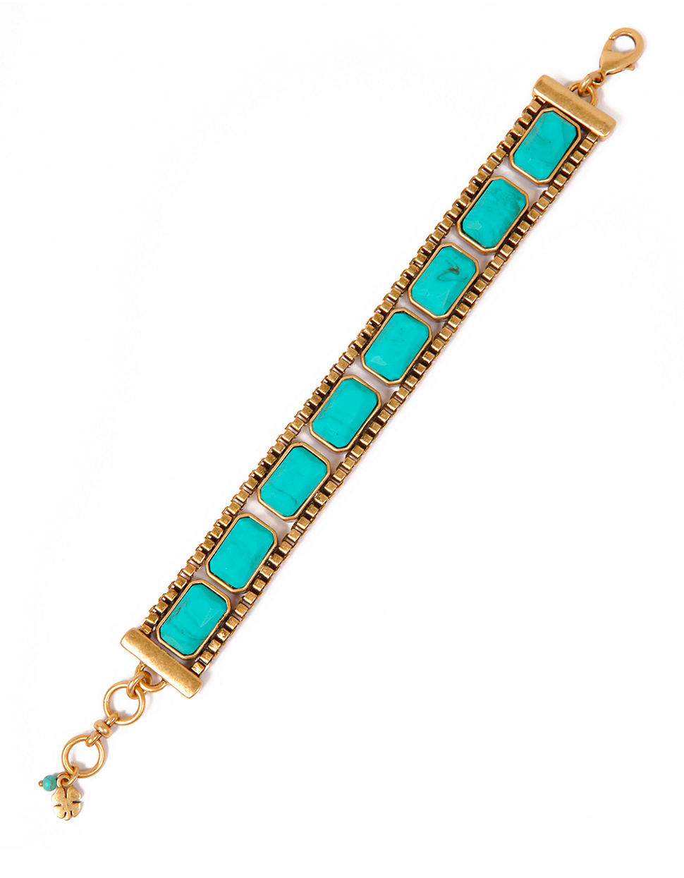 Turquoise Stone Lucky Bracelet For Men 120