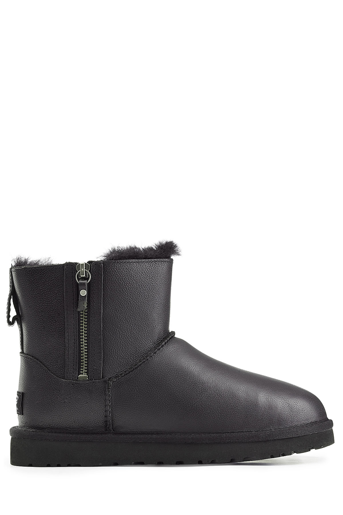 daa857162f6 UGG Classic Mini Double Zip Boots - Black