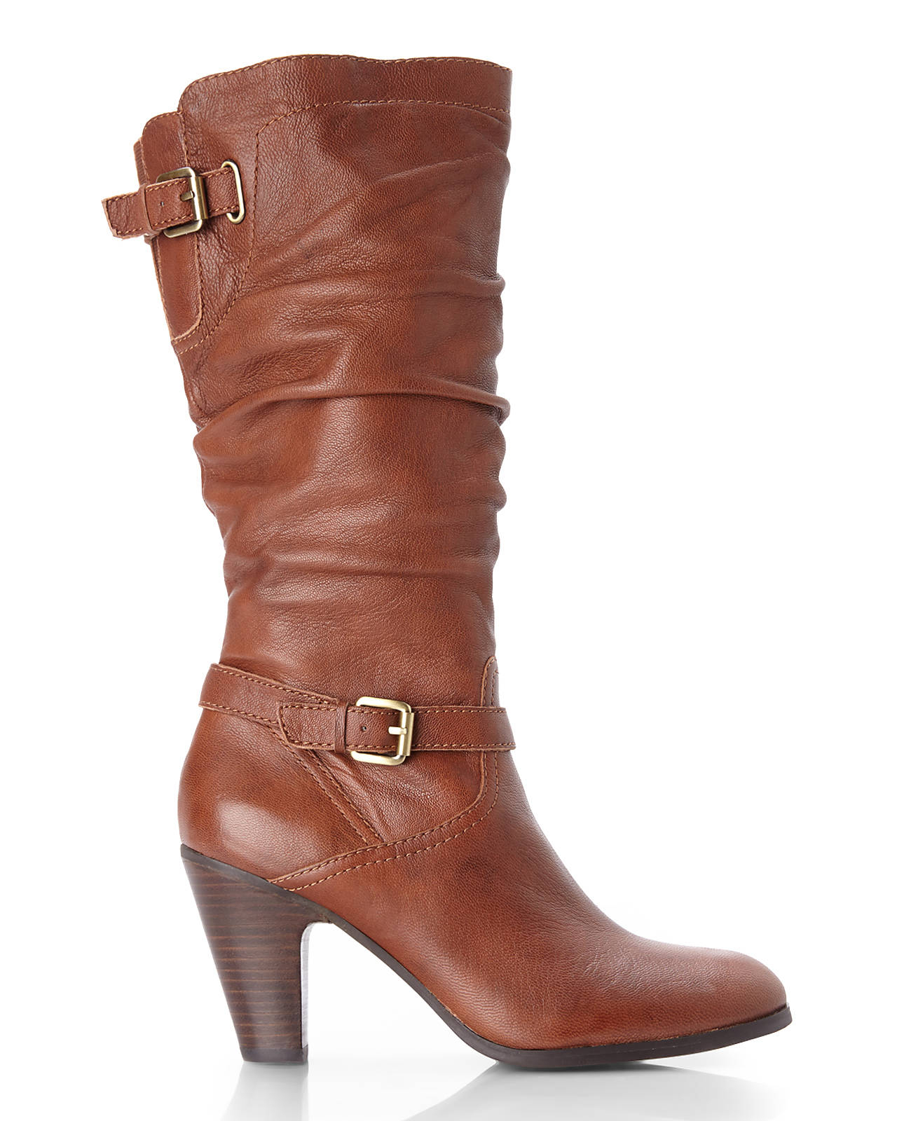 1996399dfd5 Guess Brown Cognac Magy Slouch Boots