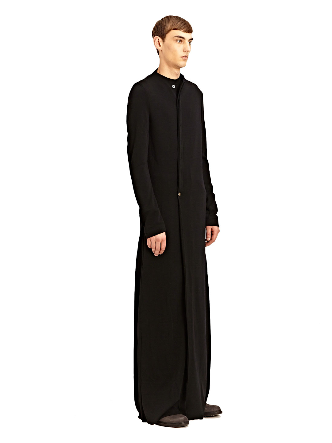 Thamanyah mens extra long asymmetrical zipped kandora in for Extra long mens dress shirts