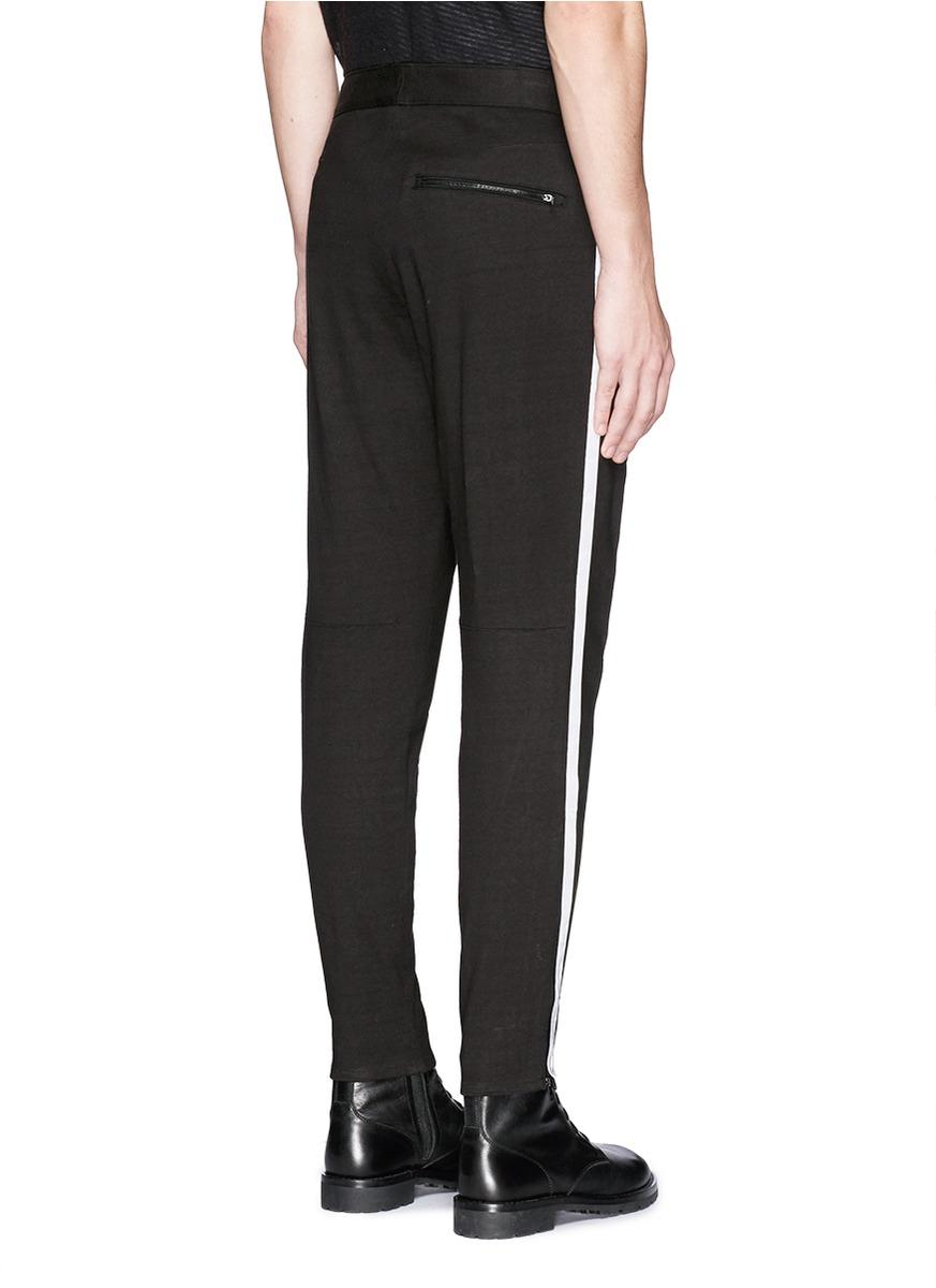 Lyst Rag Amp Bone Sector Webbing Side Stripe Track Pants