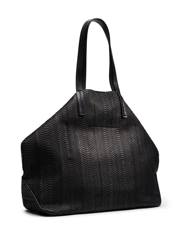 michael kors large miranda zips shopper in black lyst. Black Bedroom Furniture Sets. Home Design Ideas