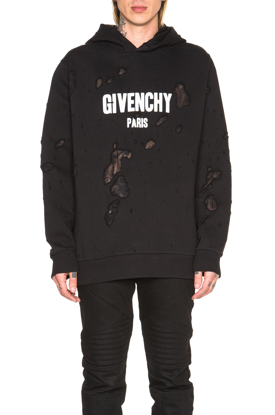 lyst givenchy paris hoodie in black. Black Bedroom Furniture Sets. Home Design Ideas