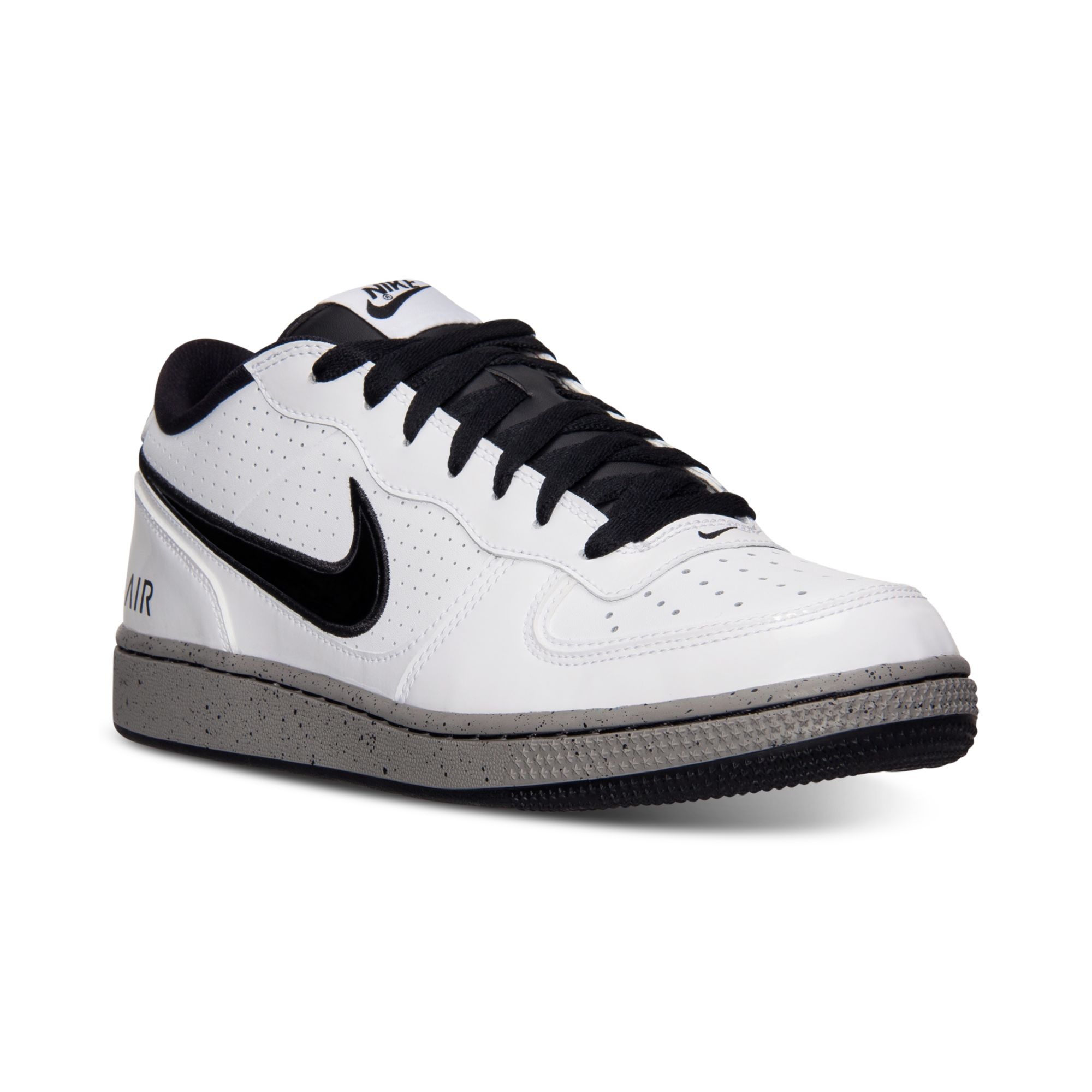 brand new a55a5 6e121 Nike Mens Air Indee Casual Sneakers From Finish Line in White for ...