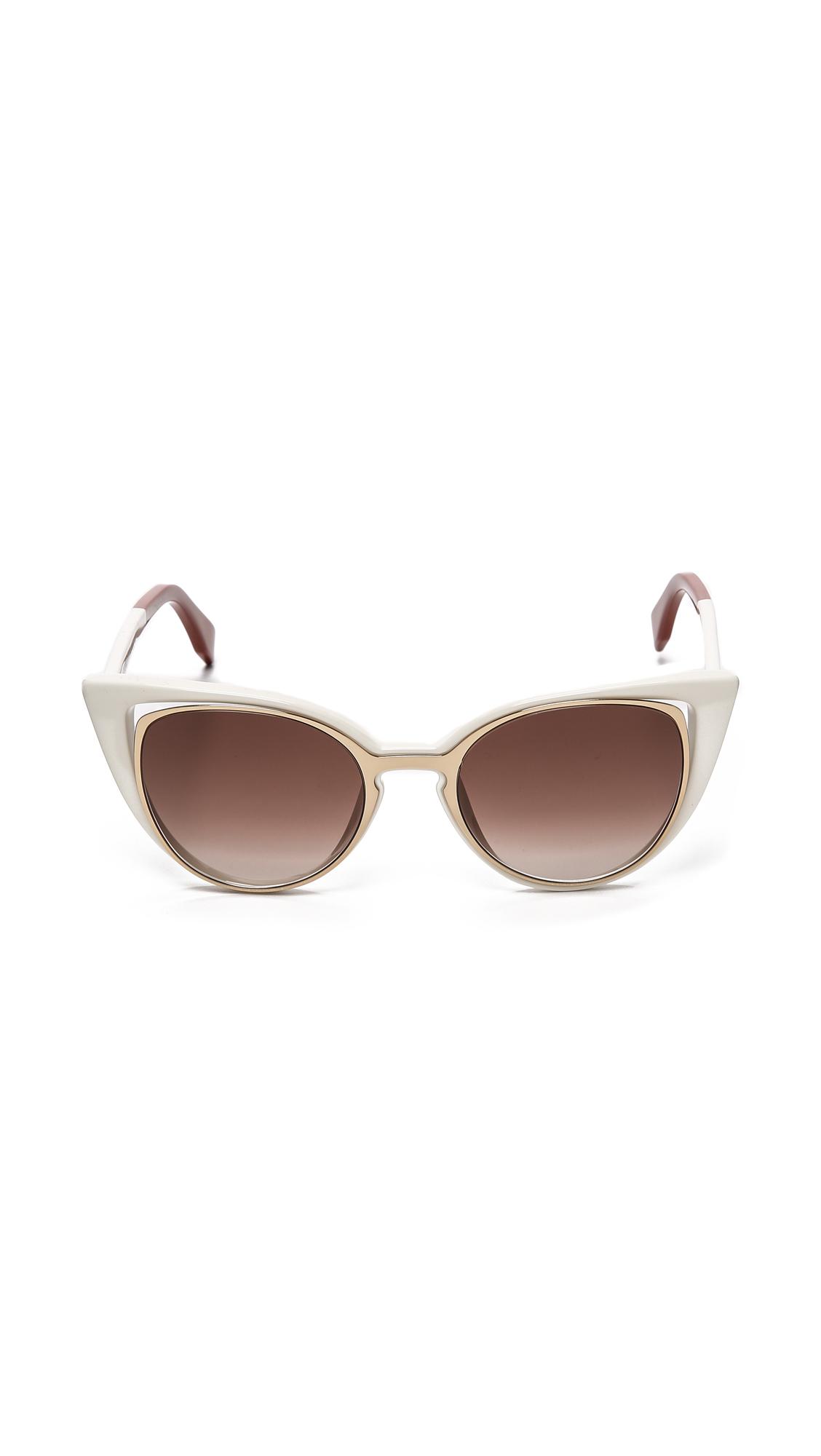 3d6629bf45 Fendi Cat Eye Sunglasses