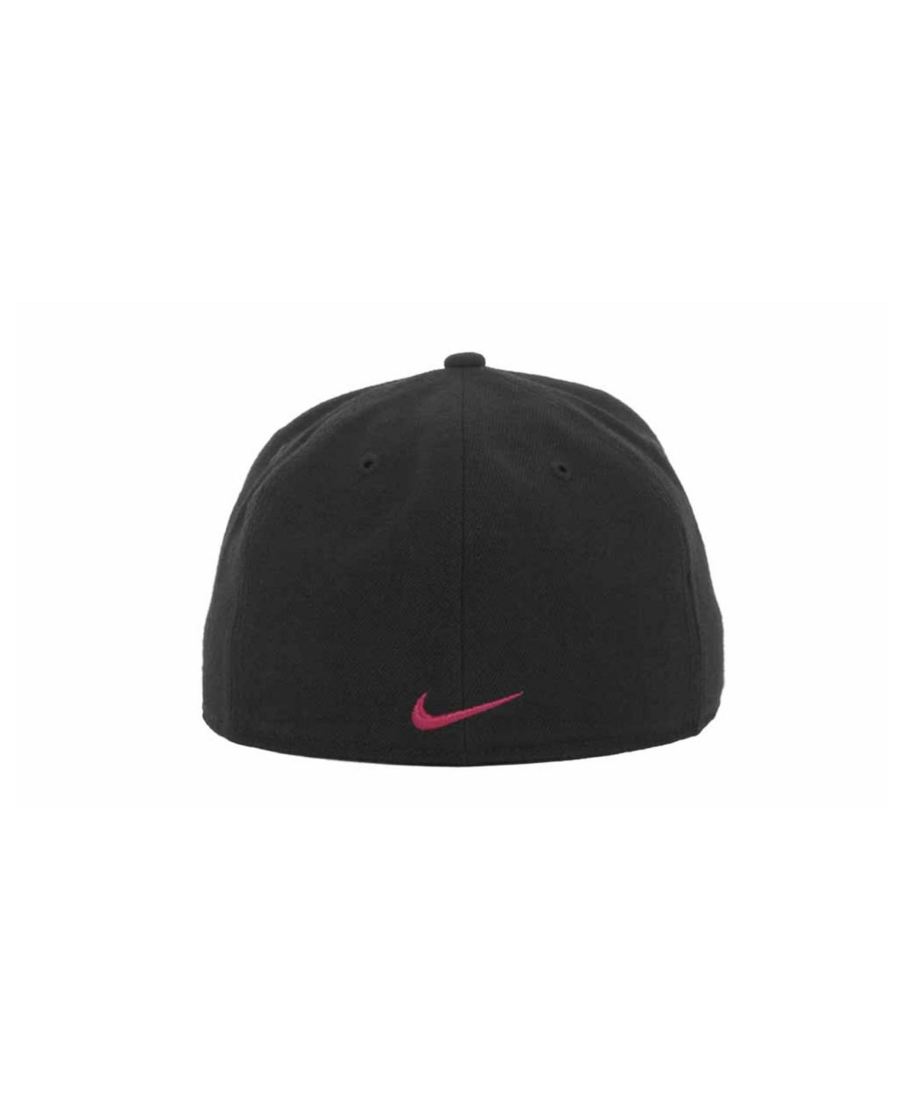 81a109731db57 ... norway lyst nike usc trojans true college fitted cap in black for men  28241 06402