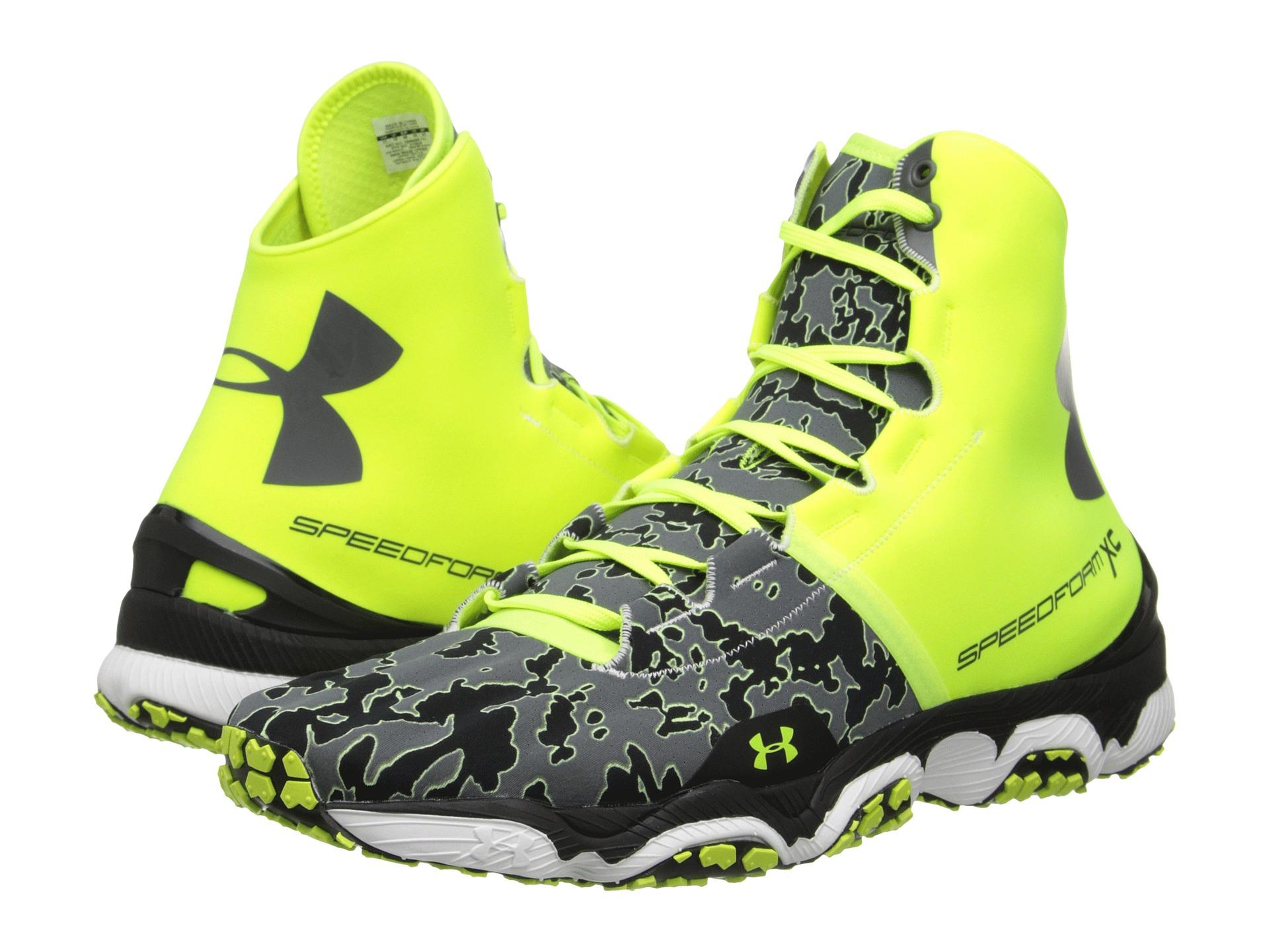 Lyst - Under Armour Ua Speedform Xc Mid in Yellow for Men 619982685