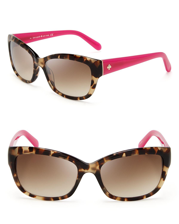 Lyst - Kate Spade New York Johannna Wayfarer Sunglasses ...