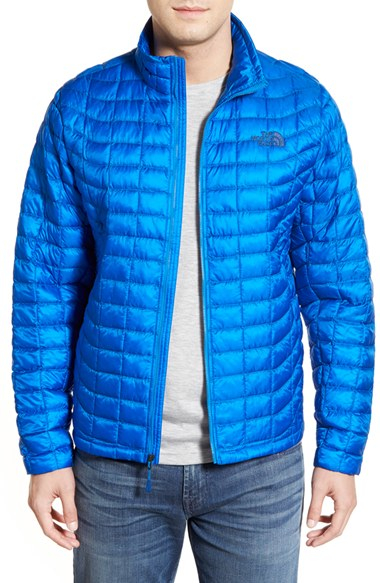 abefefe2a The North Face Blue Primaloft Thermoball Full Zip Jacket for men