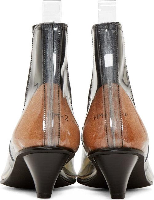 Comme des Garçons Clear Vinyl Boots