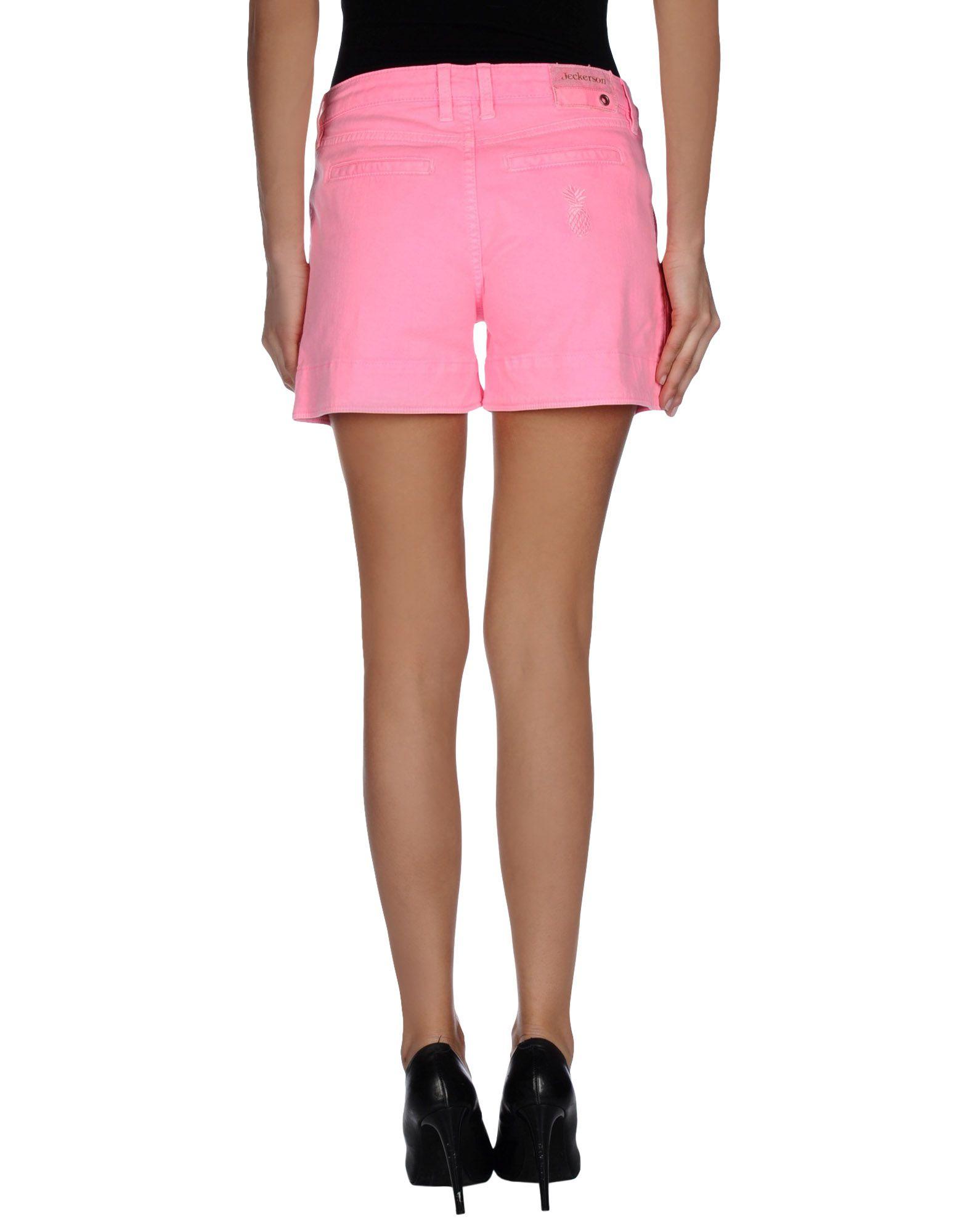 Jeckerson Denim Shorts in Purple | Lyst