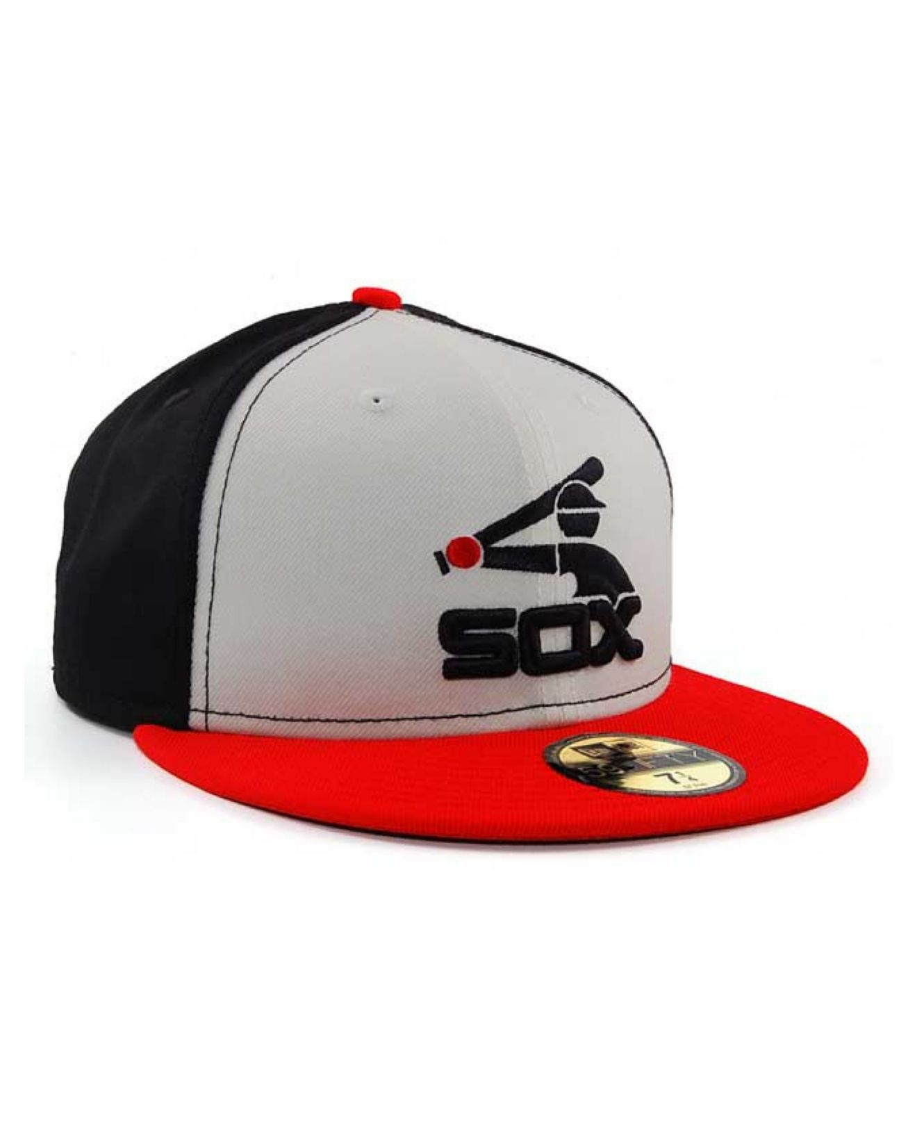 best authentic 11680 08e30 reduced lyst ktz chicago white sox cooperstown 59fifty cap in blue for men  b8ccb cb70a