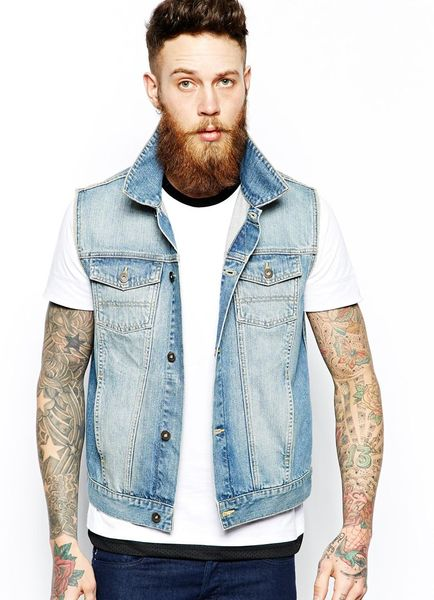 Sleeveless denim jackets are GOAT (srs) - Bodybuilding.com Forums
