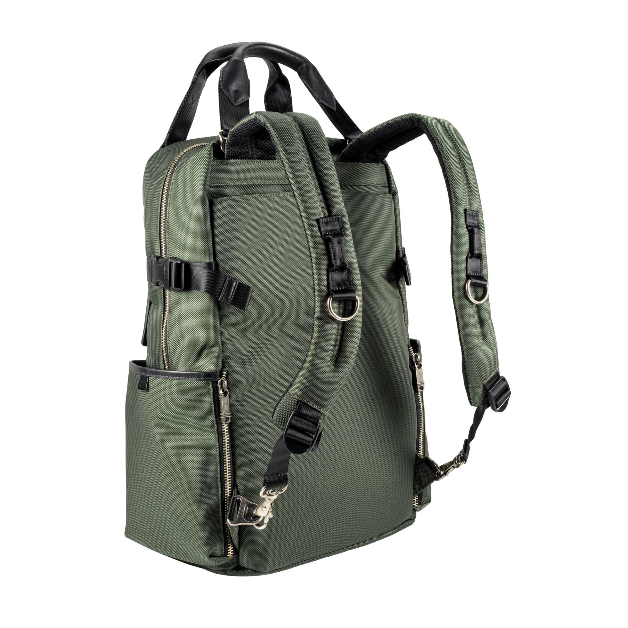 Tumi Alpha Bravo Lejeune Backpack Tote In Green For Men Lyst
