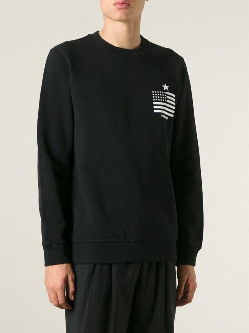 Givenchy 'Paris' Sweatshirt in Black for Men - Lyst