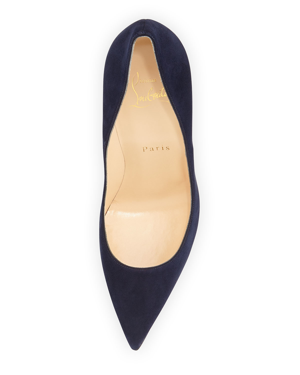 Christian louboutin So Kate Suede Pumps in Blue (NAVY) | Lyst
