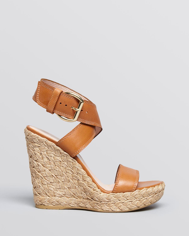 stuart weitzman platform espadrille wedge sandals xray