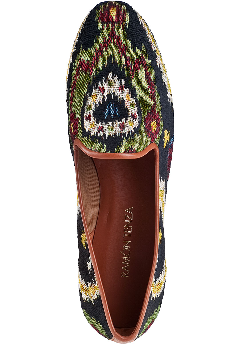 Lyst Ramon Tenza Taylor Embroidered Loafers