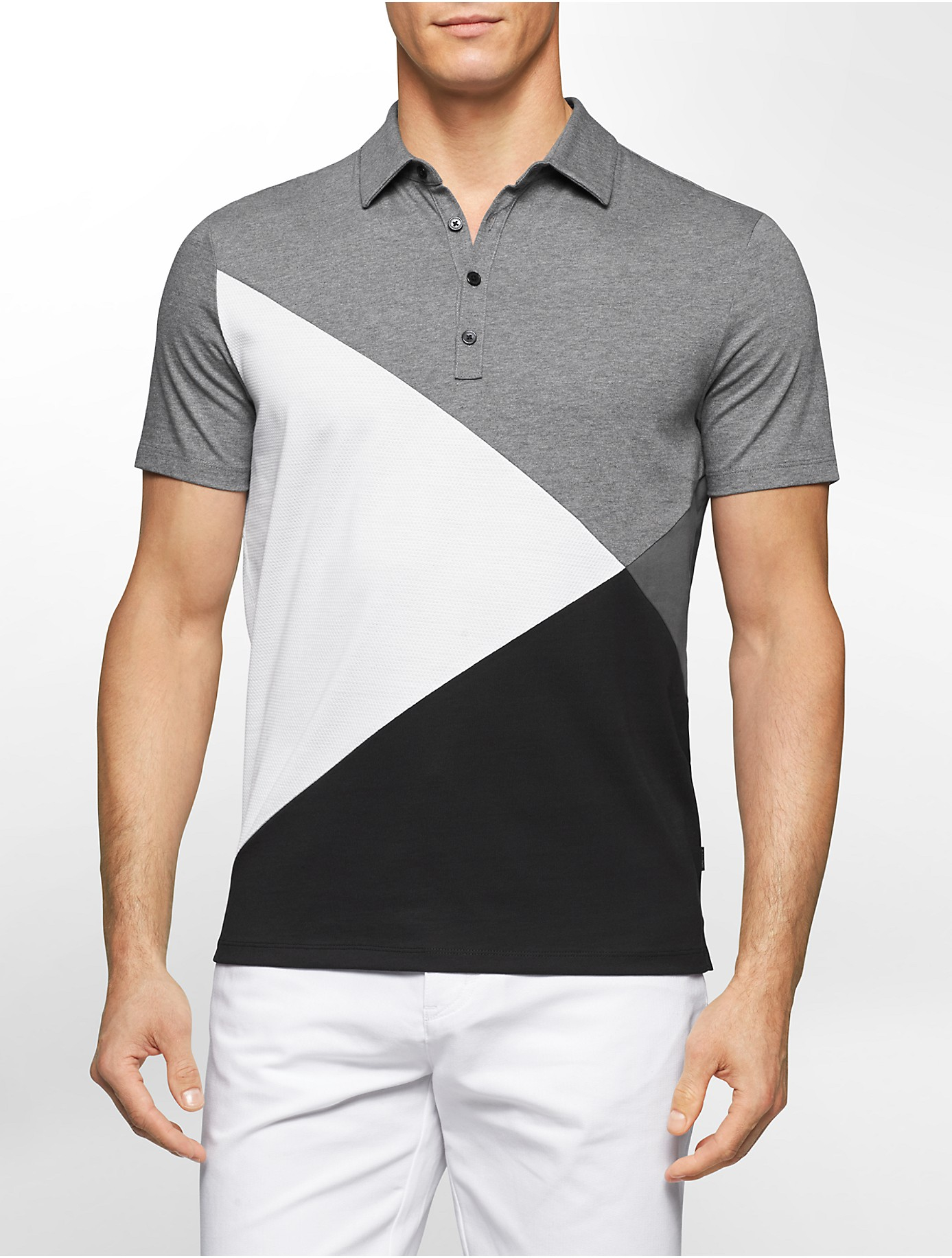 Color block polo shirts for Polo color block shirt