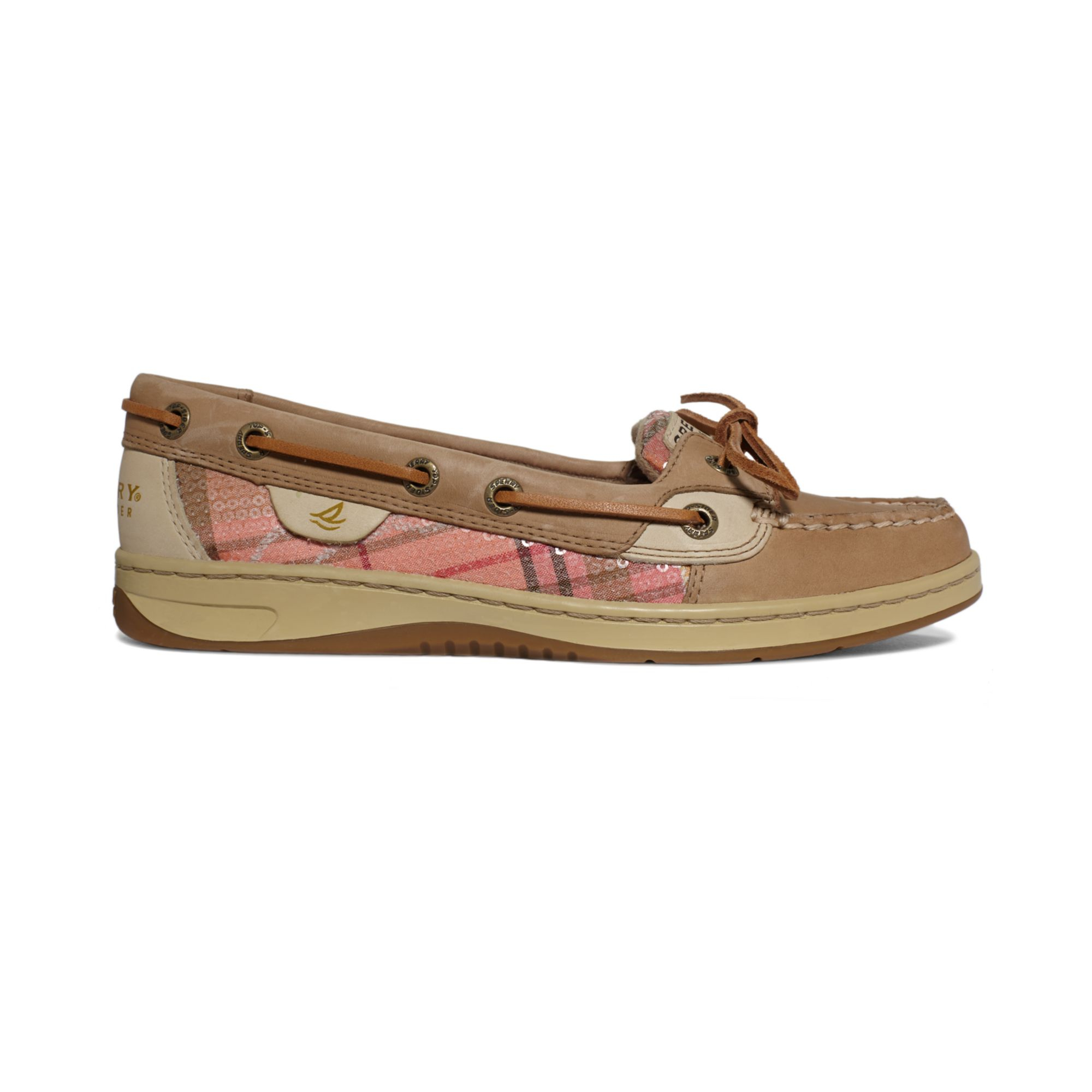 Sperry Top Sider Angelfish Womens Boat Shoes Pink