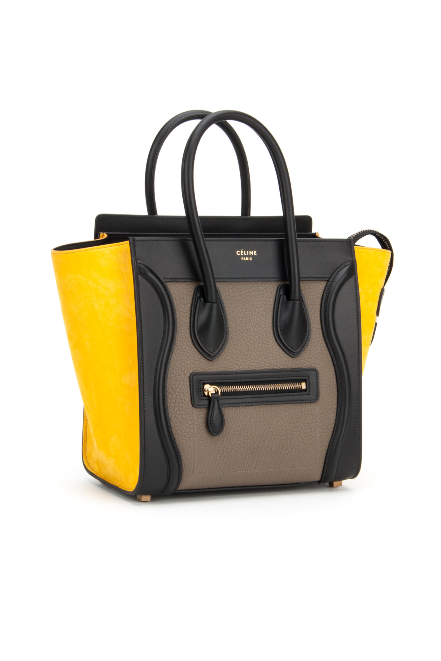 C��line Multicolor Micro Luggage Bag in Multicolor (AMBER) | Lyst