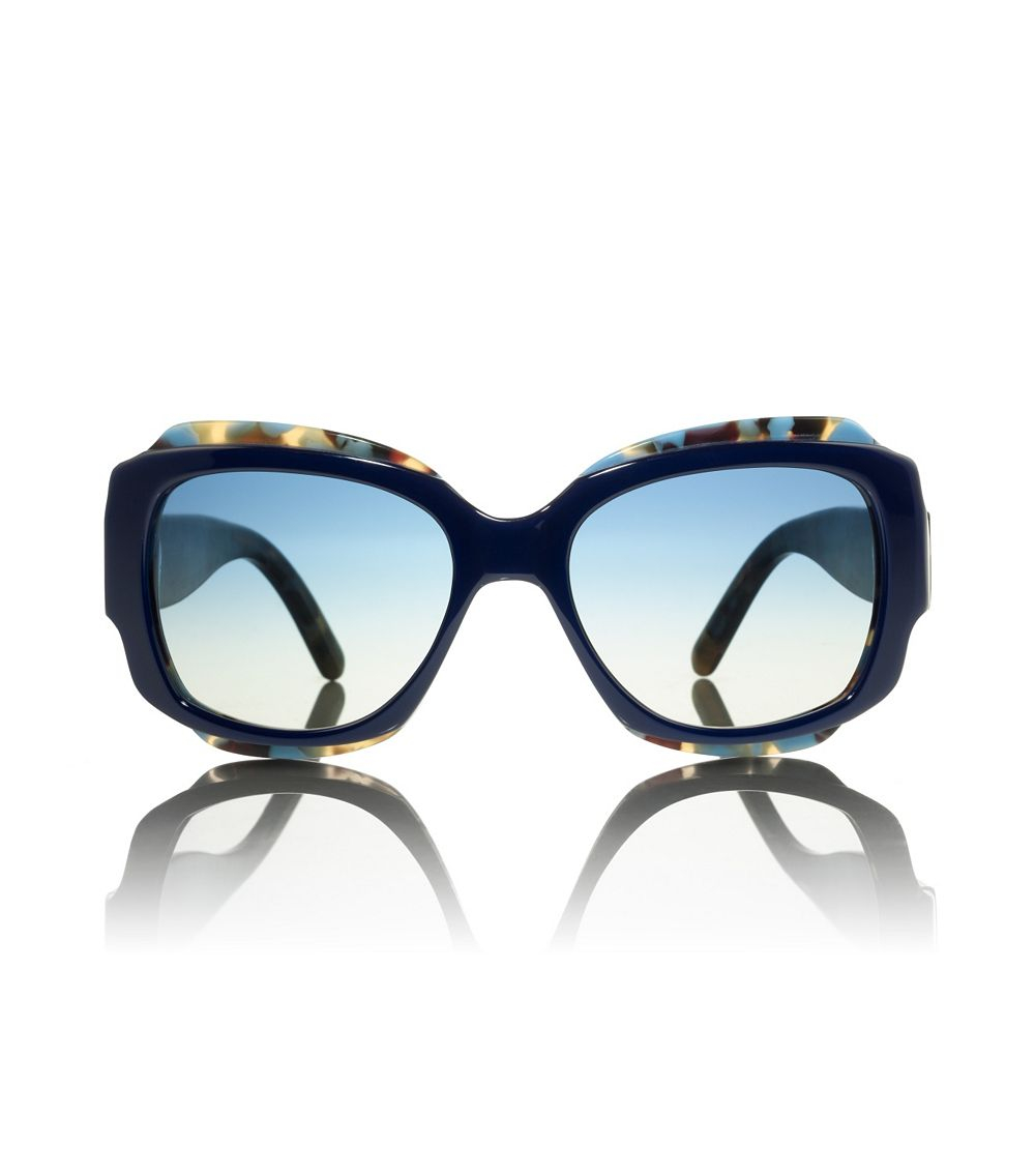 Tory Burch Maquis Sunglasses In Blue Lyst