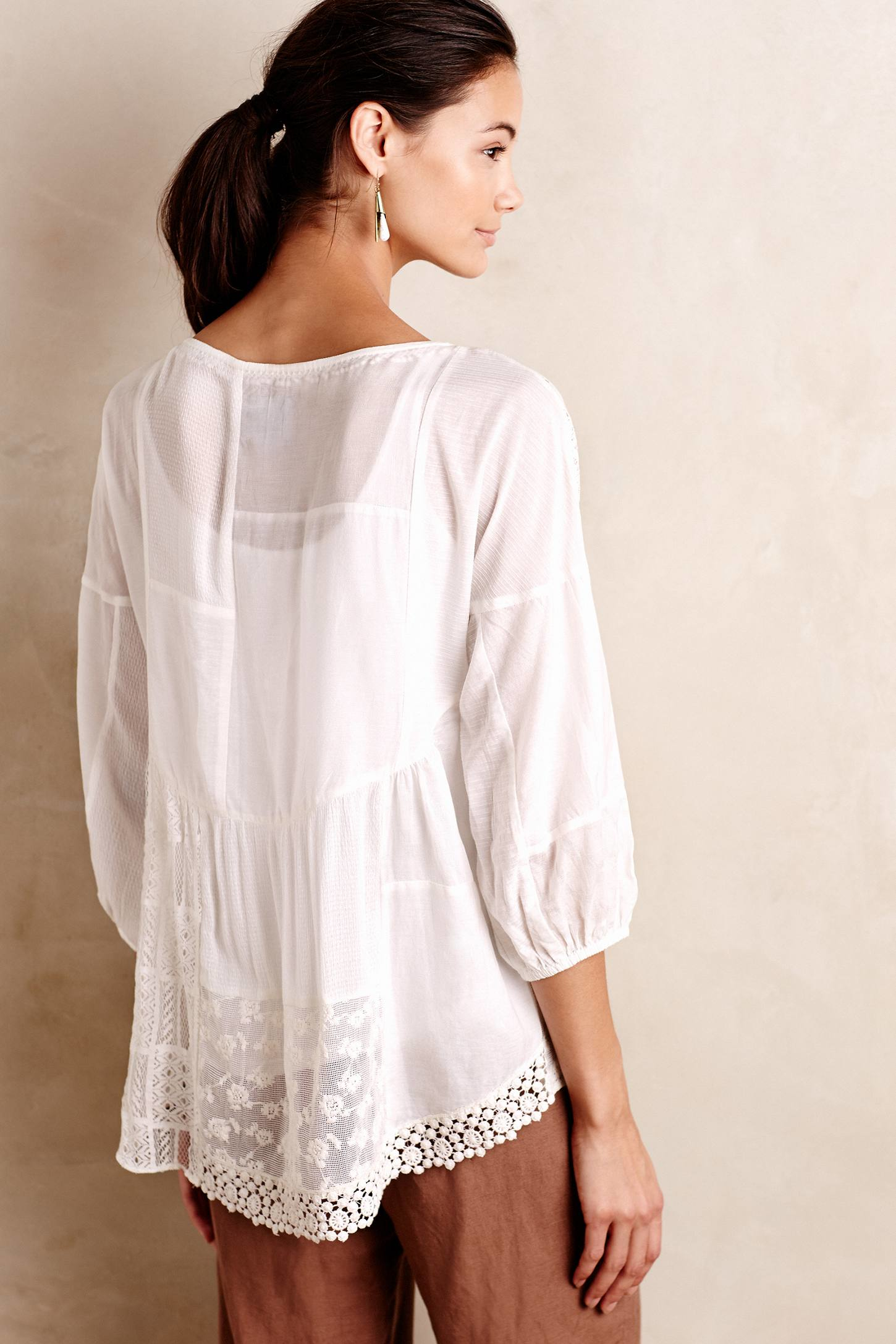 Ladies Linen Blouses