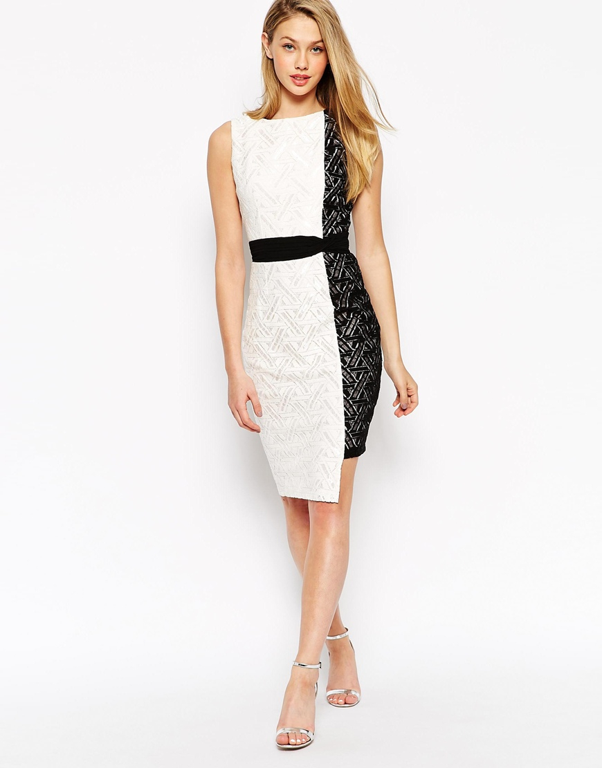 Galerry lace dress pencil