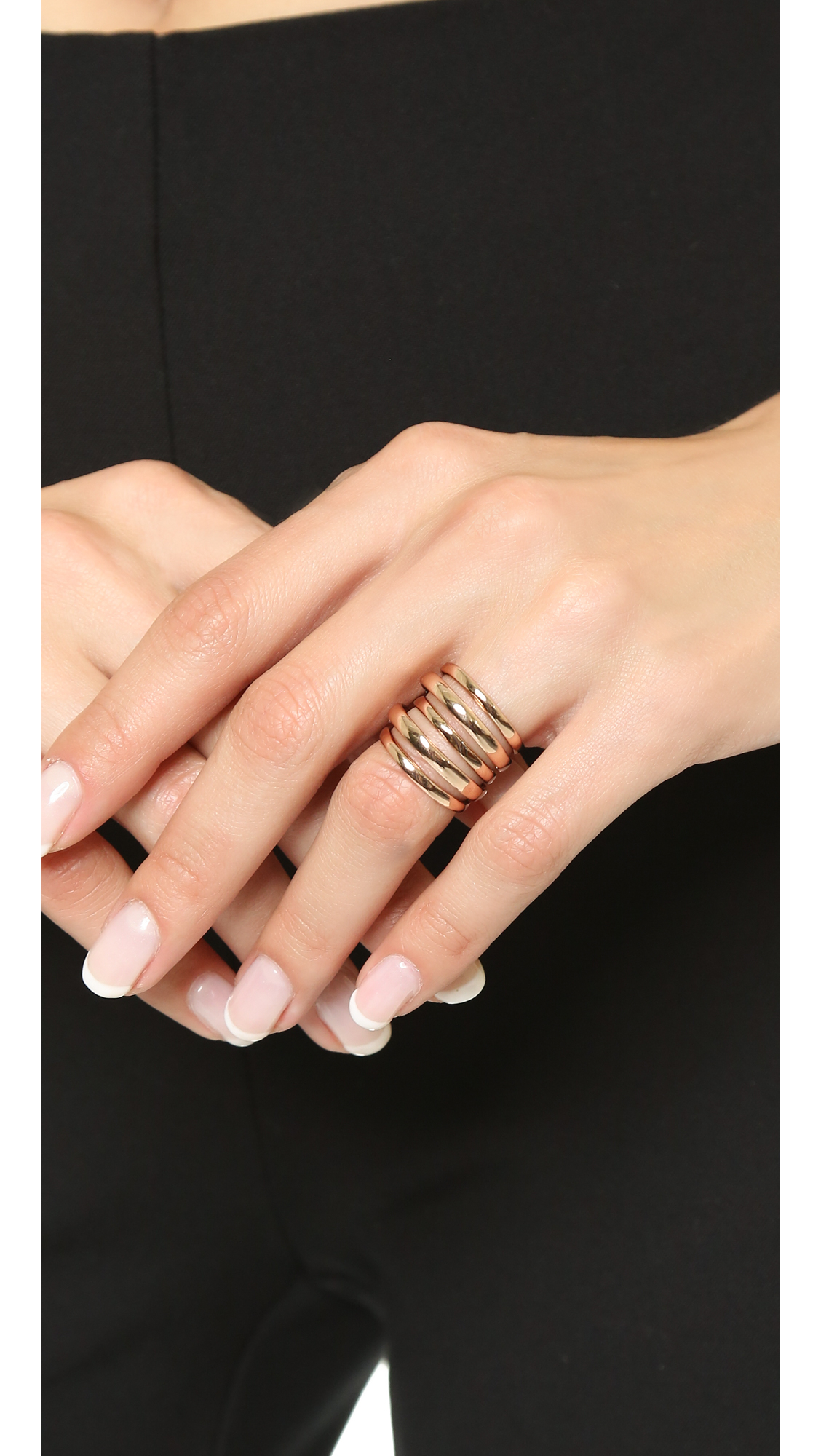 Alexis Bittar Layered Ring CoLdhEfDq