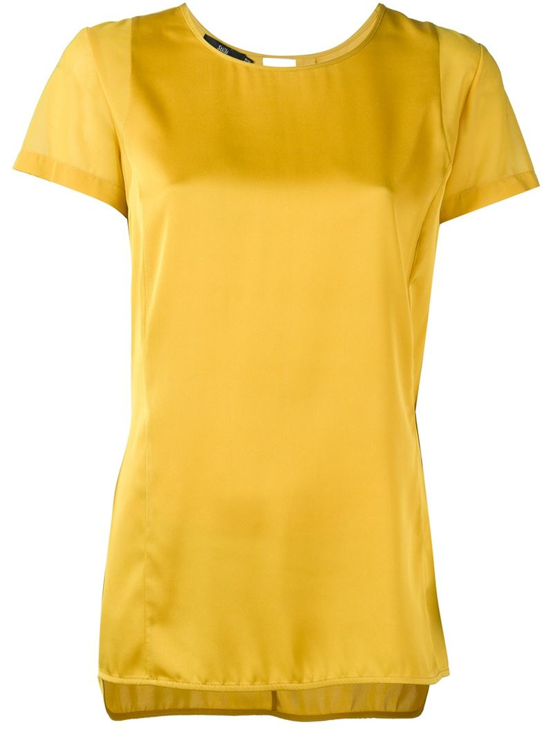 Shop for shirts, blouses, camisoles and going out tops, in trendy styles - sleeveless, sheer and mesh. Yellow () Price Range. Price Range Selected. $5 - $ $5. $5. $ $ Sleeve Length. 0 selected. ALL. New Look Short Sleeve Work Shirt. $ Glamorous plunge front long sleeve .