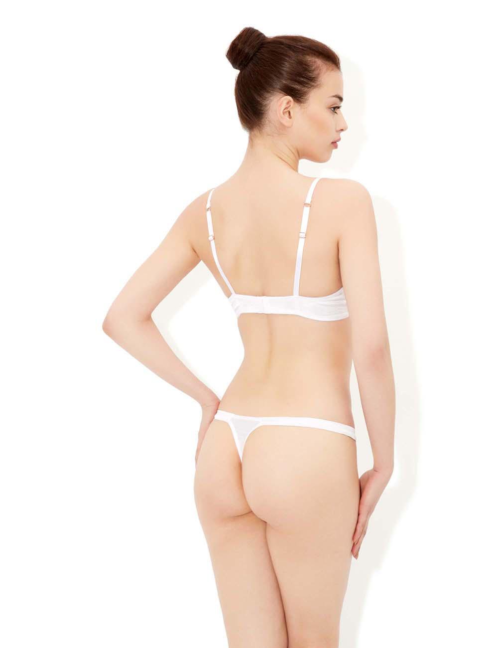 ivory silk lingerie