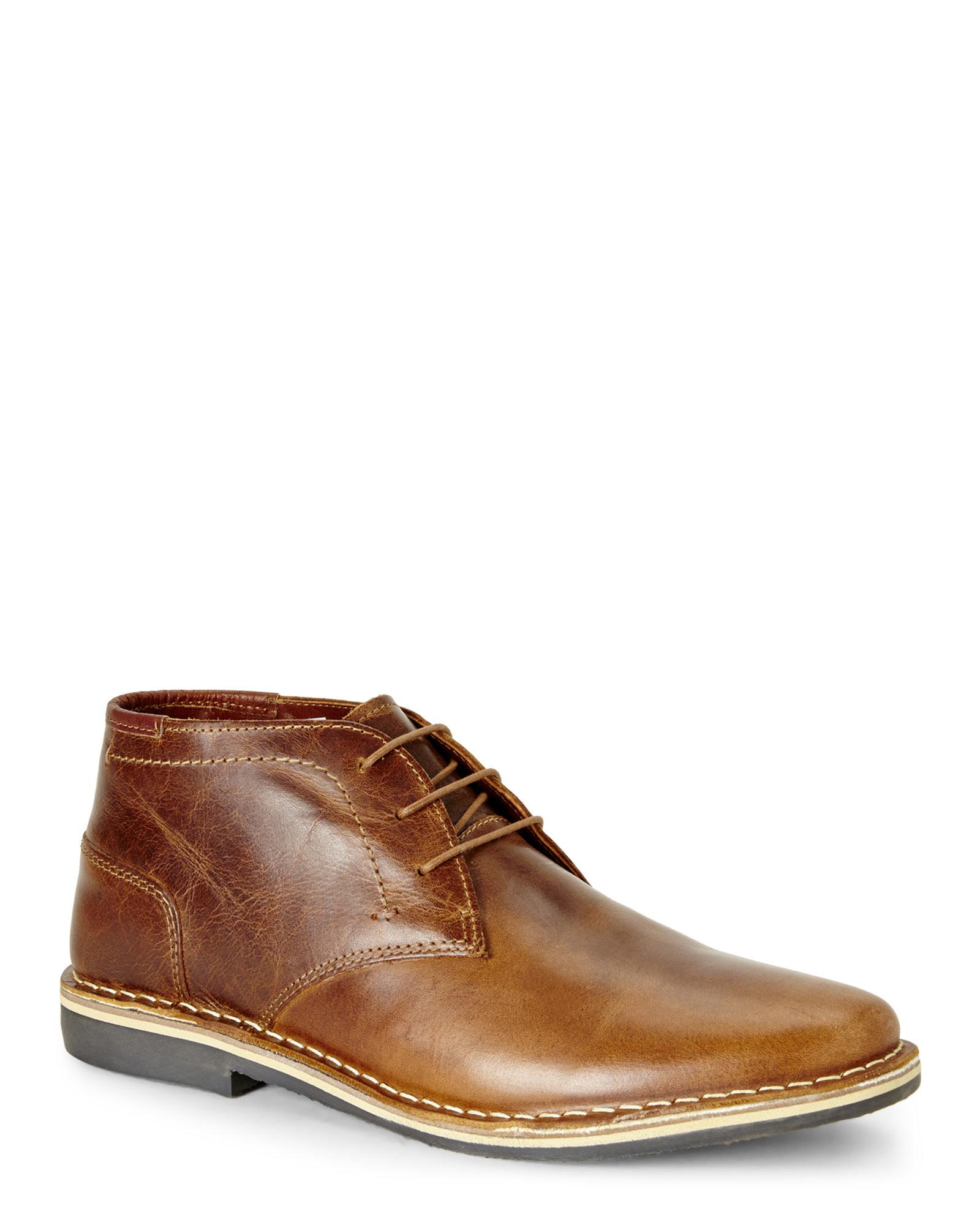 cae2441f3c4 Steve Madden Brown Cognac Harken Chukka Boots for men