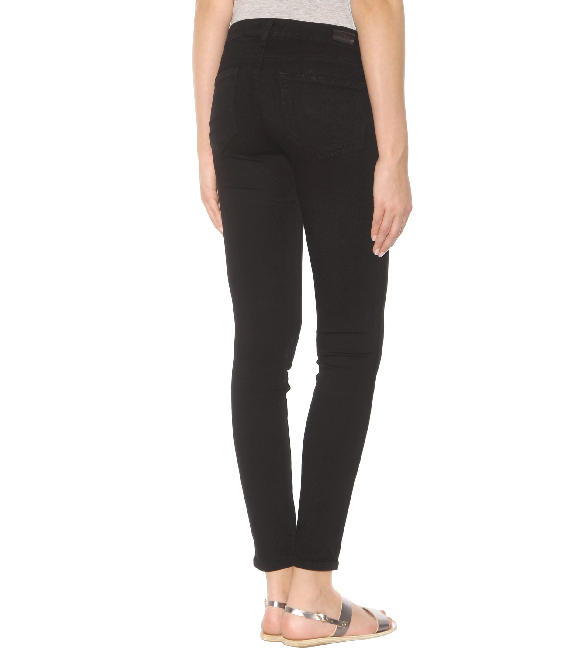 Lyst Paige Edgemont Jeans In Black