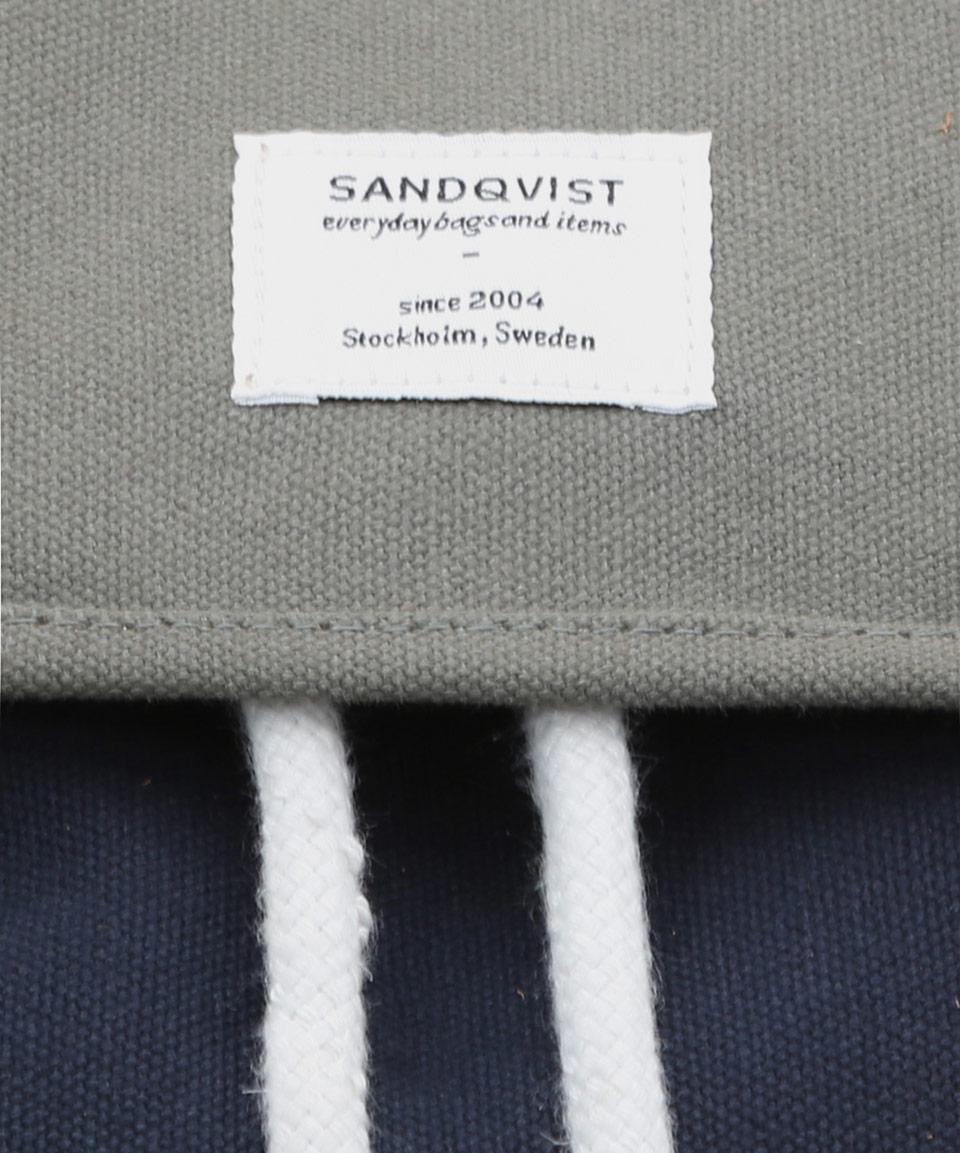 Sandqvist Navy Stig Backback in Blue for Men (navy) | Lyst