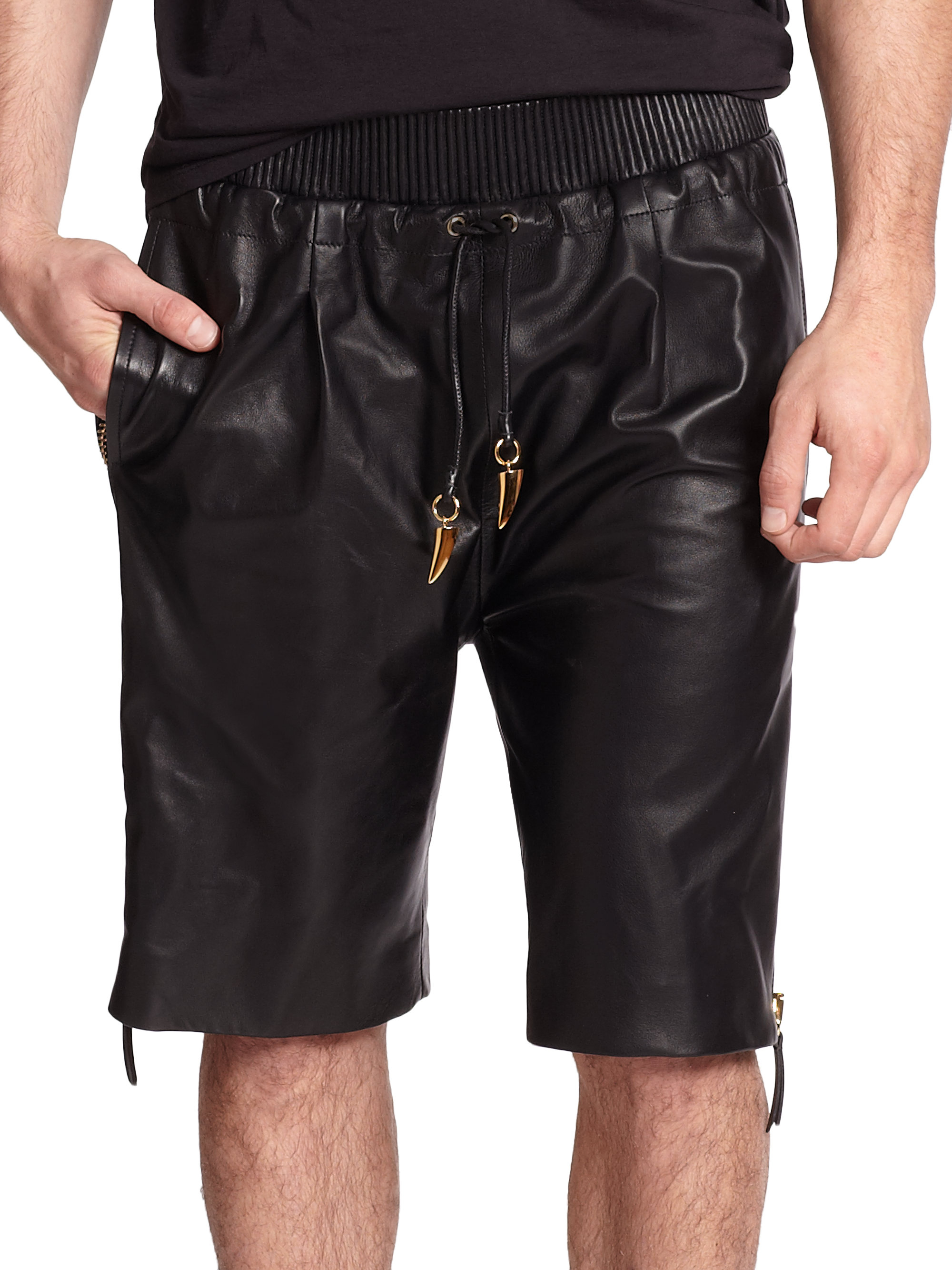 Shop for and buy mens black leather shorts online at Macy's. Find mens black leather shorts at Macy's.