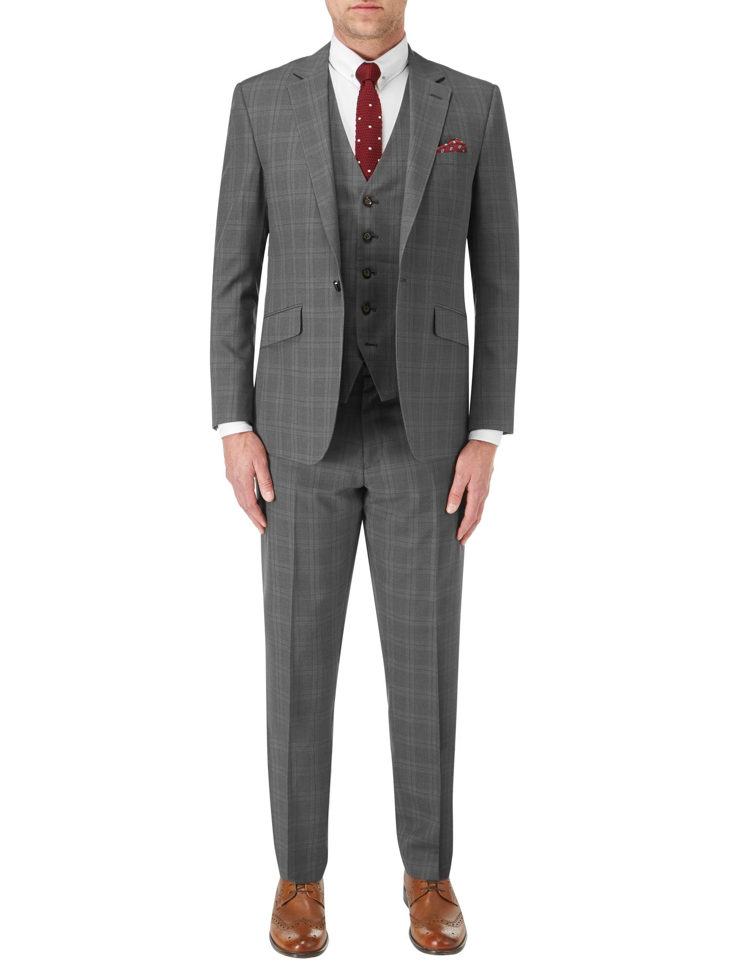 Skopes Campbell Suit Jacket in Grey (Grey) for Men