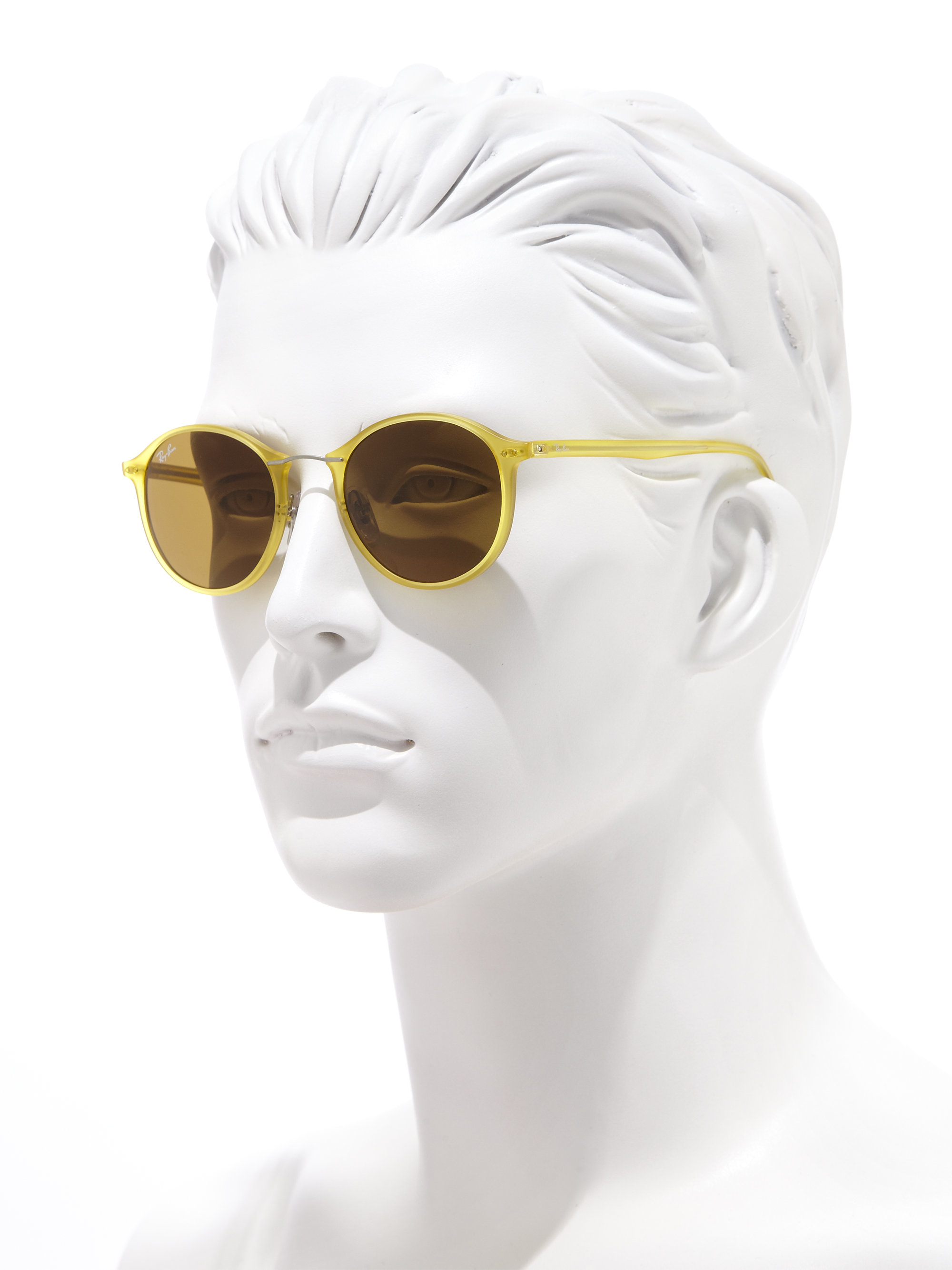 c654ad970e20b6 Lyst - Ray-Ban Phantos 49mm Sunglasses in Yellow for Men