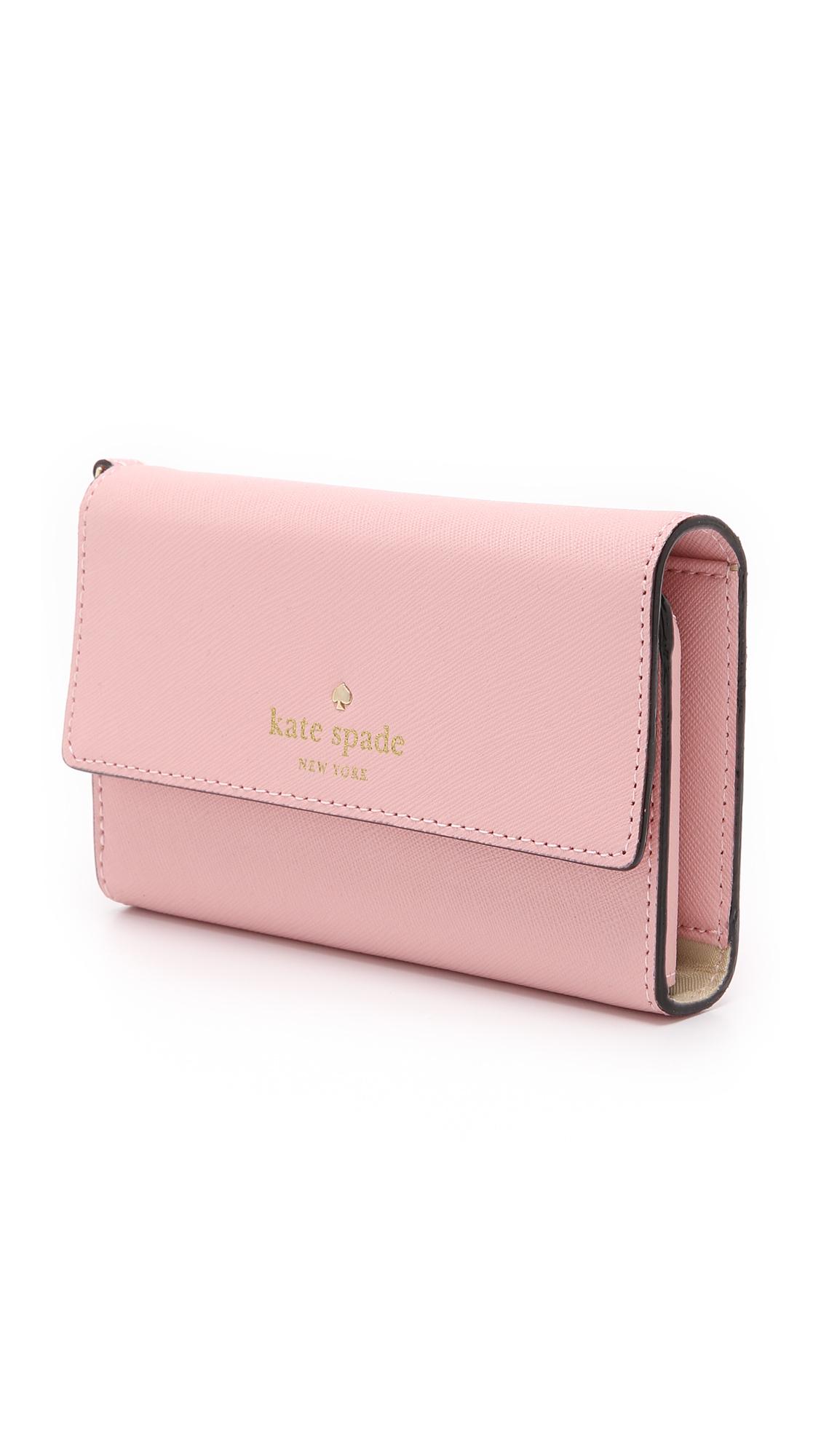 Cedar Street Iphone  Leather Wristlet