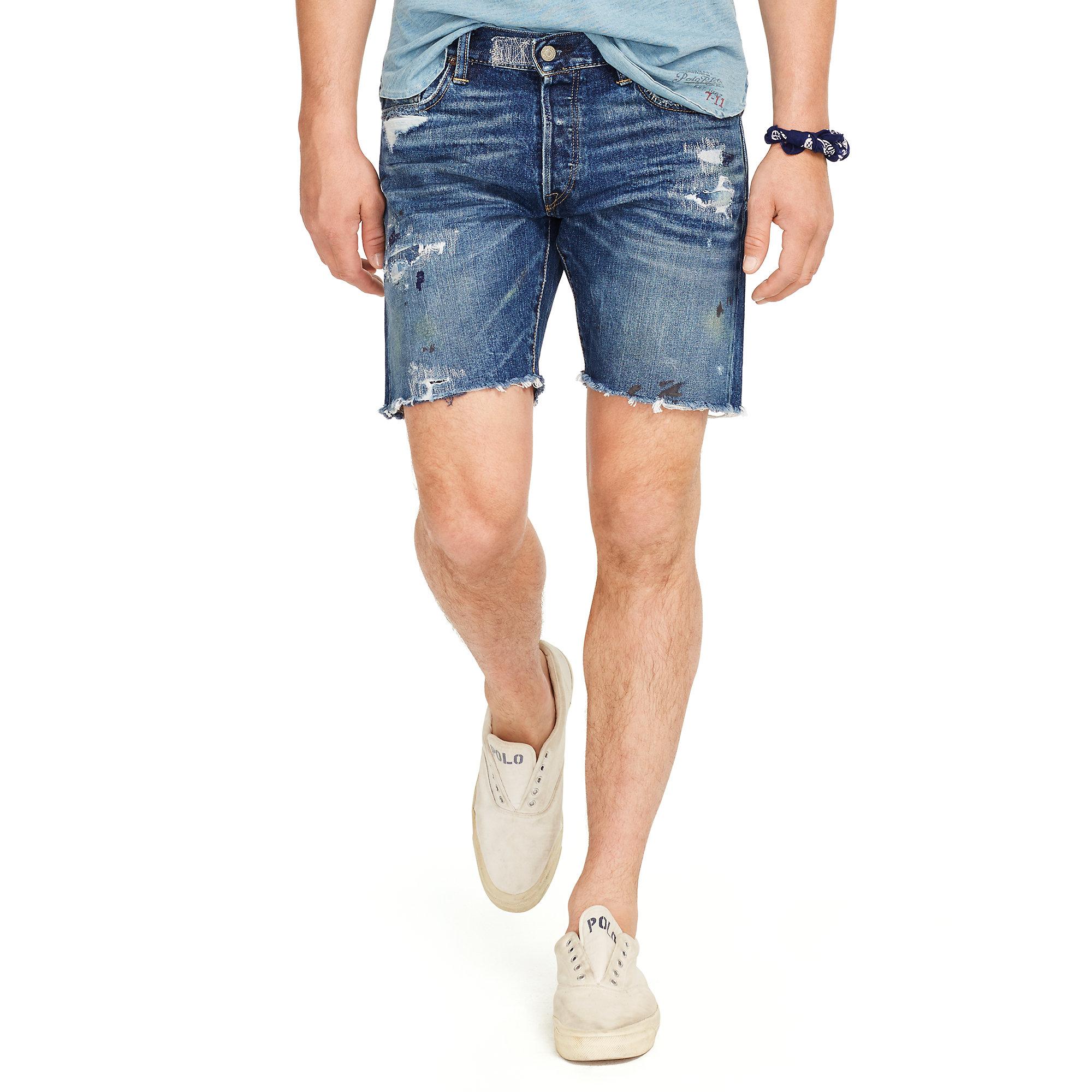 polo jean shorts