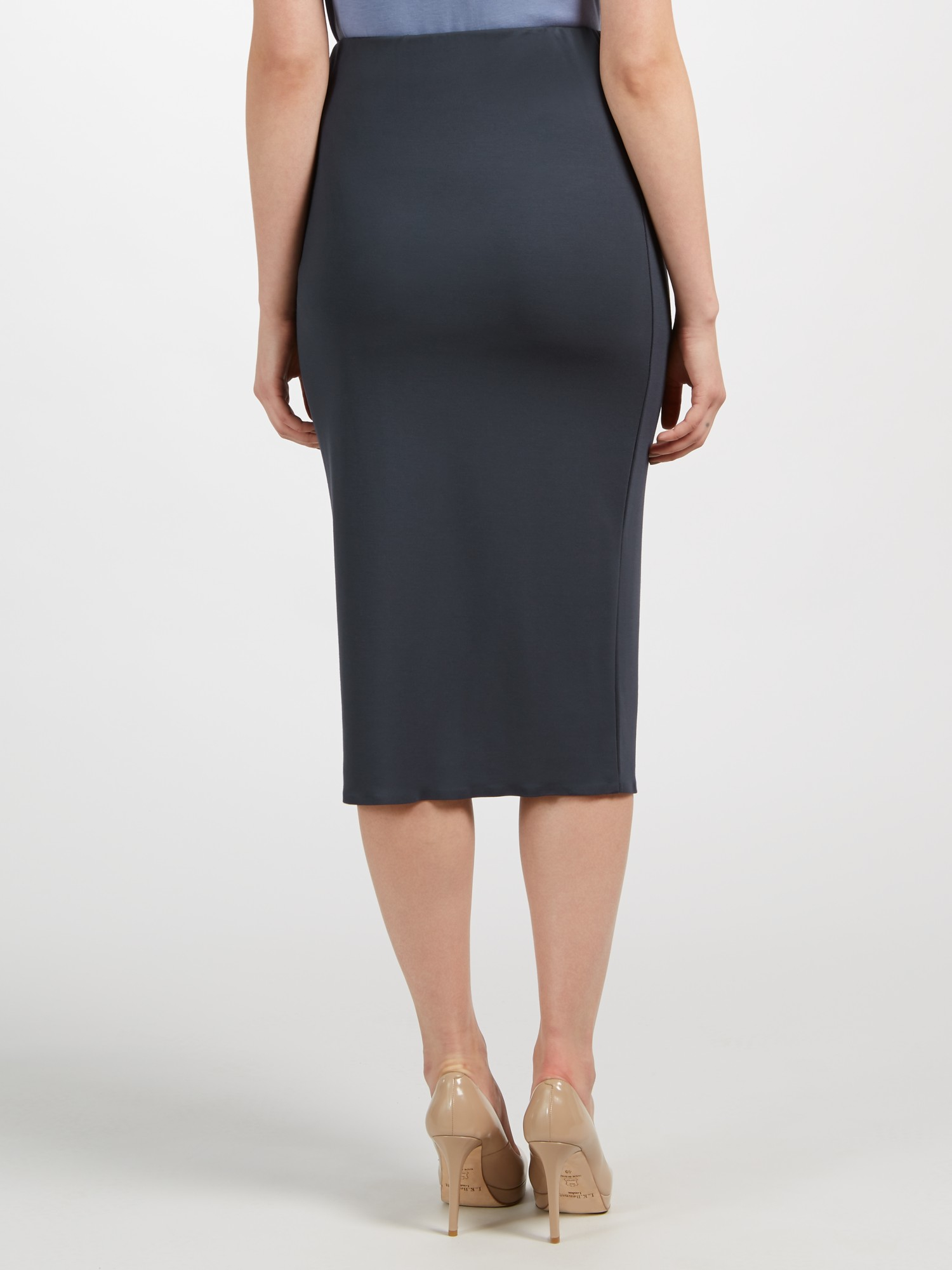 Weekend by Maxmara Tirana Jersey Skirt in Navy (Blue)