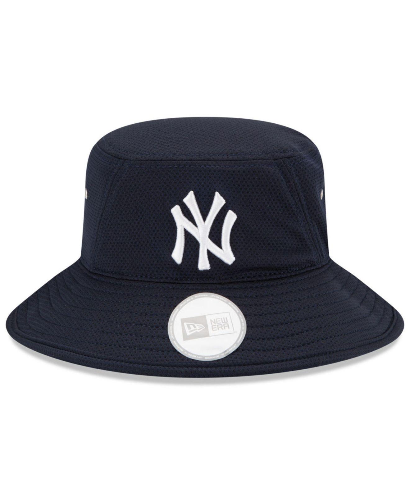 dafa69cc39f ... reduced lyst ktz new york yankees team redux bucket hat in blue for men  4f152 7caf6