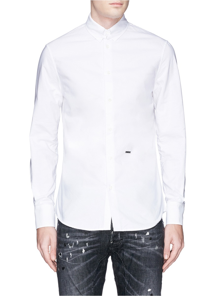 White Oxford Shirt Men