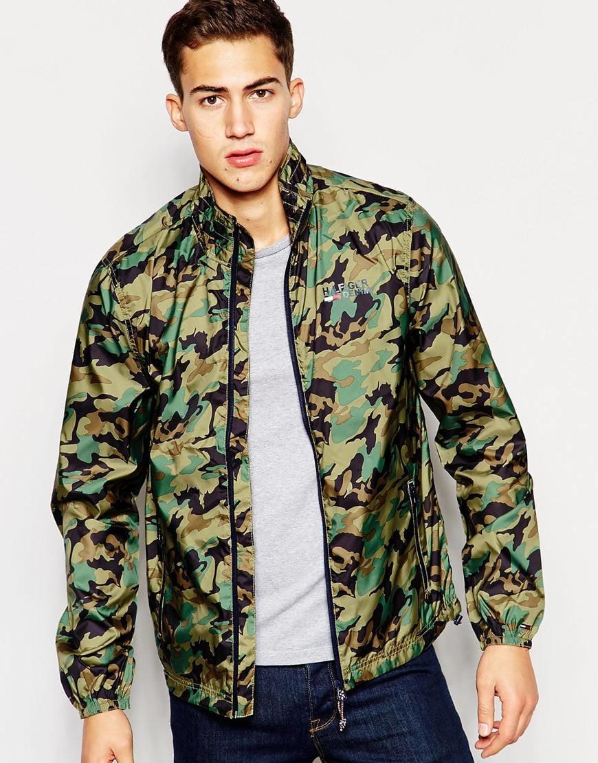 3bf0187a7 Tommy Hilfiger Green Hilfiger Denim Powell Camo Jacket for men