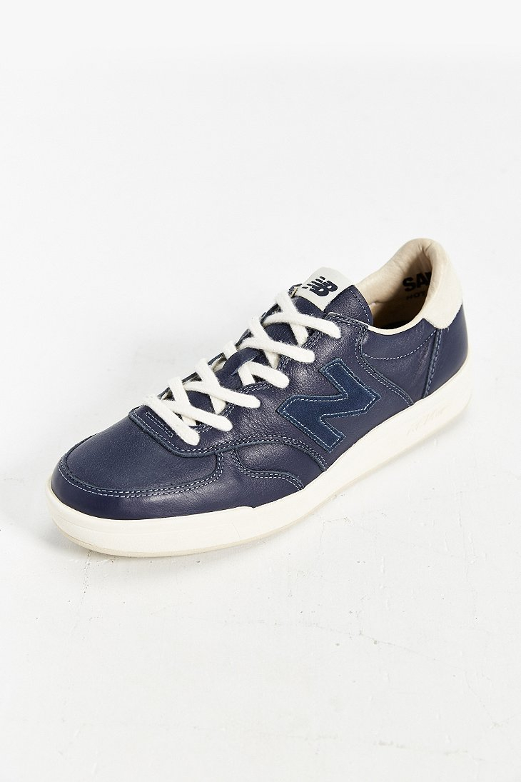New Balance Court 300 Leather Sneaker in Navy (Blue) for Men - Lyst